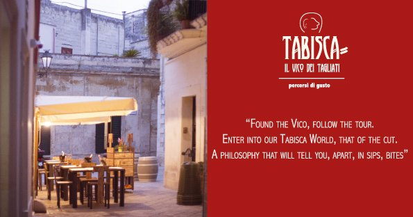 tabisca restaurant Lecce typical products Salento Lecce